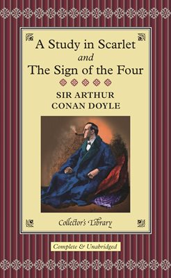 Book cover for A Study in Scarlet & The Sign of the Four